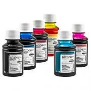 6 Frascos De 100 Ml - Tinta Corante Mizink Epson - EMU08P