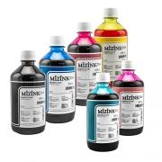 6 Frascos De 500 Ml - Tinta Corante Mizink Epson - EMU08P