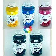 5 Frascos De 500 Ml - Tinta Pigmentada Inktec Epson - E0007