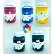 5 Frascos De 250 Ml - Tinta Pigmentada Inktec Epson - E0007