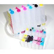 Bulk Ink Epson R200 R220 R300 + Kit Limpeza + Tinta Inktec