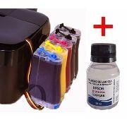 Bulk Ink Para Epson T1110 T33 + Kit Limpeza + Tinta Inktec
