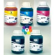 5 Frascos De 250 Ml - Tinta Corante Inktec Hp H0005 / H0006