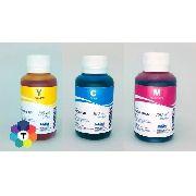 3 Frascos De 100 Ml - Tinta Corante Inktec Hp H0005 / H0006