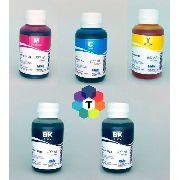 5 Frascos De 100 Ml - Tinta Corante Inktec Hp H0005 / H0006