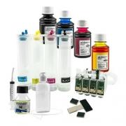Bulk Ink Compatível Epson Tx550 Tx600 T40w + 4 Frascos De Tinta