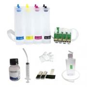 Bulk Ink Compatível Epson Tx550 Tx600 T40w + Kit Limpeza - Sem Tinta