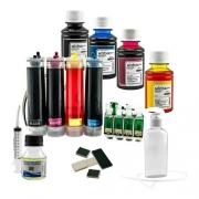 Bulk Ink Compatível Epson Tx550 Tx600 T40w + Kit Tinta Extra