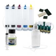Bulk Ink Para Epson C110 + Kit Limpeza Gratis - Sem Tinta