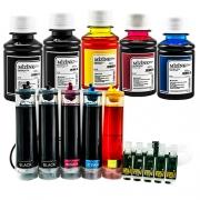 Bulk Ink Para Epson C110 + Kit Tinta Extra + Brinde