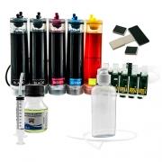 Bulk Ink Para Epson C110 Tinta Pigmentada Mizink + Brinde