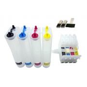 Bulk Ink Para Epson C67, C87, Cx3700, Cx4100, Cx4700 - Sem Tinta