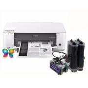 Bulk Ink Para Epson K101 K301 Mono + Kit Limpeza + Tinta Mizink