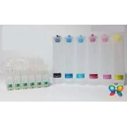 Bulk Ink Para Epson R200 R210 R220 R300 R320 - Sem Tinta