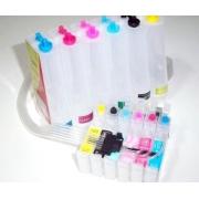 Bulk Ink Para Epson R200 R220 R300 + Kit Limpeza + Tinta Mizink