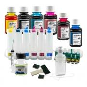 Bulk Ink Para Epson T50 T700w Tx720wd+ Kit Limpeza + Tinta Mizink
