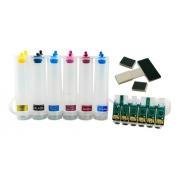 Bulk Ink Para Epson T50 T700w Tx720wd Tx730wd - Sem Tinta