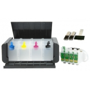 Bulk Ink Para Epson Tx123 Tx125 Tx133 Tx135 Luxo - Sem Tinta