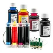 Bulk Ink Para Epson Tx125 Tx135 T25 Tx133 + Tinta Extra + Brinde