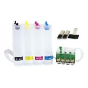 Bulk Ink Para Epson Tx420 Tx235 Tx320f Sem Tinta