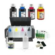 Bulk Ink Para Epson Tx550 Tx600 T40w - Luxo + 4 Frascos De Tinta