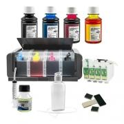 Bulk Ink Para Epson Tx550 Tx600 T40w - Luxo + Tinta Extra
