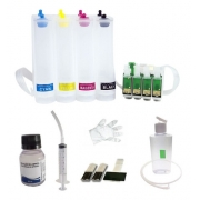 Bulk Ink Para Epson Tx620 Tx560 T42w + Kit Limpeza - Sem Tinta