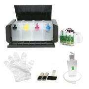 Bulk Ink Para Epson Xp214 + Desbloqueio + Kit Limpeza - Sem Tinta