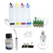 Bulk Ink Para Epson Xp214, Xp401, Xp204 + Kit Limpeza - Sem Tinta