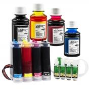 Bulk Ink Para Epson Xp214 Xp401 Xp204 + Kit Tinta Extra + Brinde