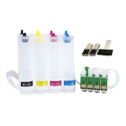 Bulk Ink Para Epson Xp214 Xp401 Xp204 XP411  - Kit Técnico