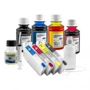 Cartucho Recarregável Para Xp241 Xp231 + Chave + Tinta Pigmentada