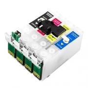 Chip Bulk Ink Para Epson Tx600, Tx550 + Kit Cartuchos Novos