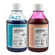 Kit - 2 frascos de 250ml - Tinta Pigmentada Mizink Epson EM35P