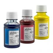 Kit - 3 frascos de 100ml - Tinta Pigmentada Mizink Epson EM35P