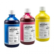 Kit - 3 frascos de 500ml - Tinta Pigmentada Mizink Epson EM35P