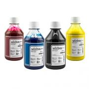 Kit - 4 frascos de 250ml - Tinta Pigmentada Mizink Epson EM35P