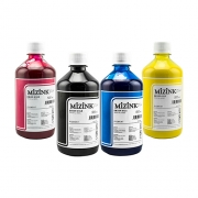 Kit - 4 frascos de 500ml - Tinta Pigmentada Mizink Epson EM35P
