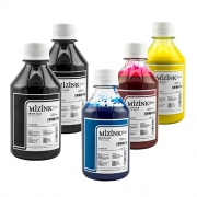 Kit - 5 frascos de 250ml - Tinta Pigmentada Mizink Epson EM35P