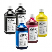 Kit - 5 frascos de 500ml - Tinta Pigmentada Mizink Epson EM35P