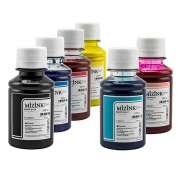 Kit - 6 frascos de 100ml - Tinta Pigmentada Mizink Epson EM35P