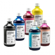 Kit - 6 frascos de 500ml - Tinta Pigmentada Mizink Epson EM35P