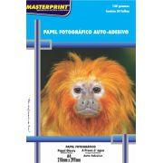 Papel Fotográfico Adesivo 130g Master Print 400 Folhas A4