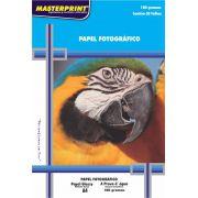 Papel Fotográfico Glossy 180g Master Print  300 Folhas A4