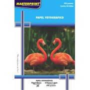 Papel Fotográfico Glossy 230g Master Print  1200 Folhas A4
