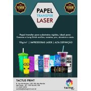 Papel Transfer Laser 95g - Alta Qualidade - 1000 folhas A4