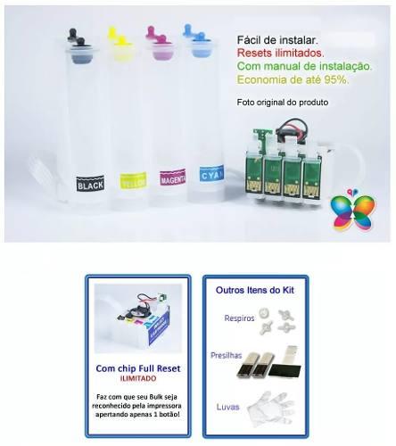 Bulk Ink Epson Xp214 Xp401 Xp204 - Sem Tinta