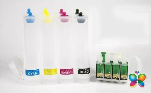 Bulk Ink Para Epson Tx620 Tx560 T42w Tx720 - Sem Tinta
