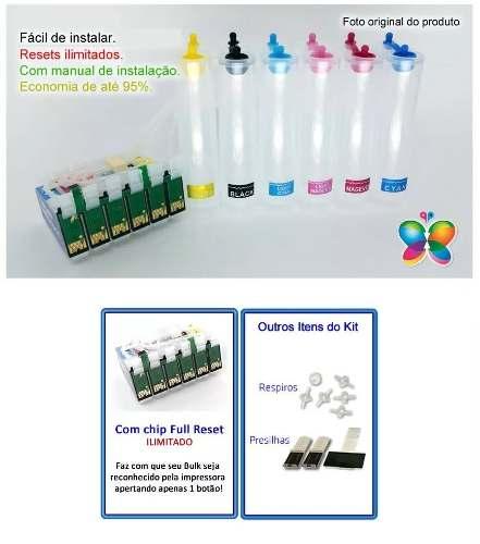 Bulk Ink Epson T50 T700w Tx720wd Tx730wd - Sem Tinta