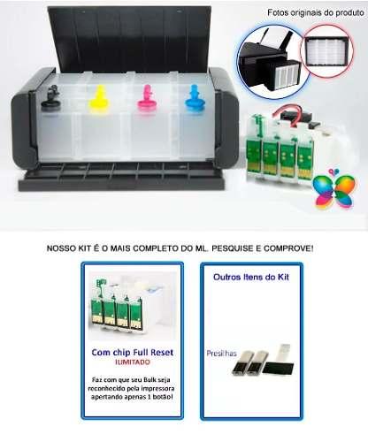 Bulk Ink Epson Tx123 Tx125 Tx133 Tx135 Ecotank - Sem Tinta